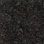 Granito NEGRO BRASIL 2 cm espesor. La imagen es sólo ilustrativa.